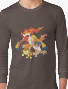 Chimchar Evolution Long Sleeve T-Shirt