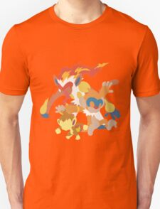 Chimchar Evolution Unisex T-Shirt