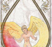 Daughter of smoke and bone seraphim by Little-Creator
