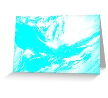 Ambient Blue Greeting Card