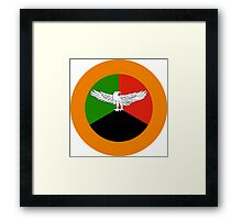 Zambian Air Force - Roundel Framed Print