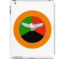 Zambian Air Force - Roundel iPad Case/Skin