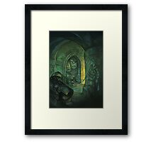 """""""Creating a Dungeon"""" Framed Print"""