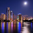 Gold Coast Neon Colours  by Nickie