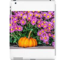 Pumpkin and Daisies iPad Case/Skin