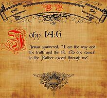 Bible Verse John 14:6 by cuda12