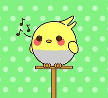 Kawaii bird by peppermintpopuk