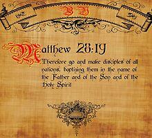 Blble Verse Matthew 28:19 by cuda12