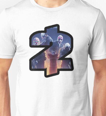 Payday 2 Logo Design #1 Unisex T-Shirt