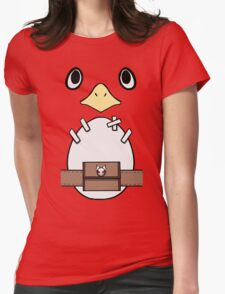 Be a Prinny, Dood! Womens Fitted T-Shirt
