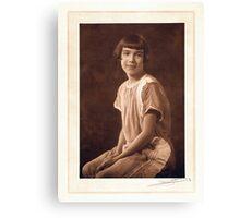 My Mom, Alretta Elizabeth A. Smart Canvas Print