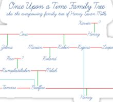 Once Upon a Time Family Tree Sticker
