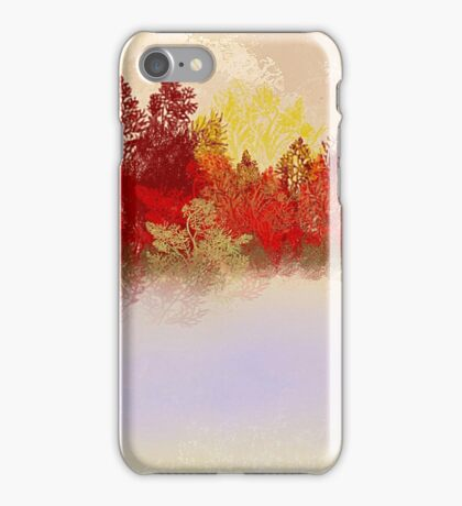 The Red Trees iPhone Case/Skin