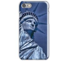 Liberty in Blue iPhone Case/Skin