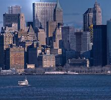 Manhattan Skyline by Dyle Warren