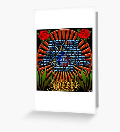 The Wheel Greeting Card