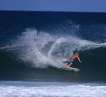 rocky point carve by Grant Freeman