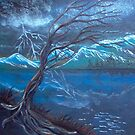 Normans Lightning Storm by linmarie