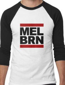 MELBRN Men's Baseball ¾ T-Shirt