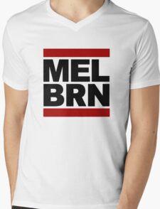 MELBRN Mens V-Neck T-Shirt