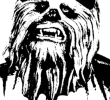 Wookie of the Year Sticker