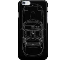 MX5 Plan View blueprint iPhone Case/Skin