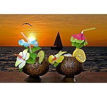 Sunset Happy Hour Photographic Print