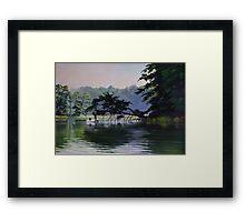 Crabber on Herring Creek Framed Print