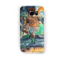 Elder Scrolls Oblivion: Argonian in the Cave Samsung Galaxy Case/Skin