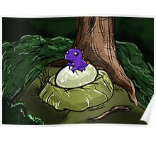 Dino Egg (Hatched) Poster