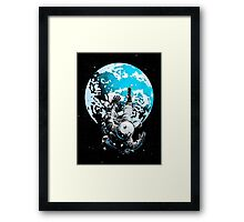 The Lost Astronaut Framed Print