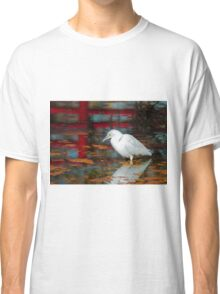 Snowy Egret Classic T-Shirt