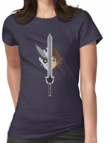 Hero Inside (Without letters) Womens Fitted T-Shirt