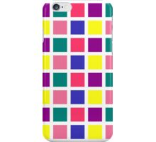 square spring on white iPhone Case/Skin