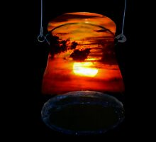 Sunset Candle Holder by Cheyenne