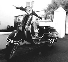 Ska'd For Life (Vespa) by InspiredPhoto
