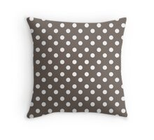 Polka Dots Pattern Gifts Throw Pillow