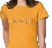 Hook Line & Sinker Womens Fitted T-Shirt