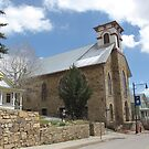 St James United Methodist (historic) Church in Central City Colorado by janetmarston