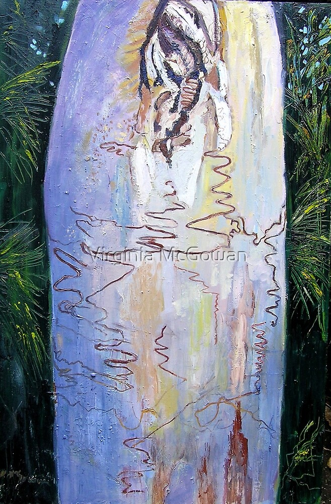 Fraser Island Scribbly Gum by Virginia McGowan