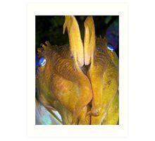 Giant Cuttlefish - Defensive Art Print
