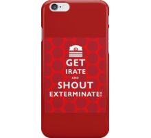 GET IRATE iPhone Case/Skin