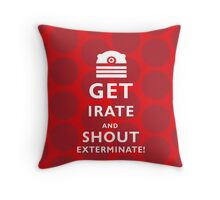 GET IRATE Throw Pillow