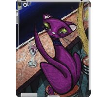 Kitty Cocktails: Mid Century Modern Cat Bar by Alma Lee iPad Case/Skin