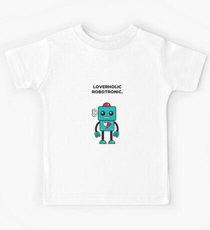 Loverholic Robotronic Kids Tee