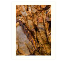 Widemouth Bay Geology Art Print