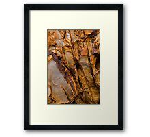Widemouth Bay Geology Framed Print