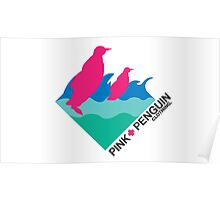 PINK PENGUIN Poster