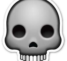 Skull Emoji by dxstract