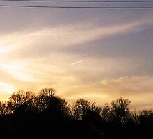 Angelic Sunset by maragoldlady